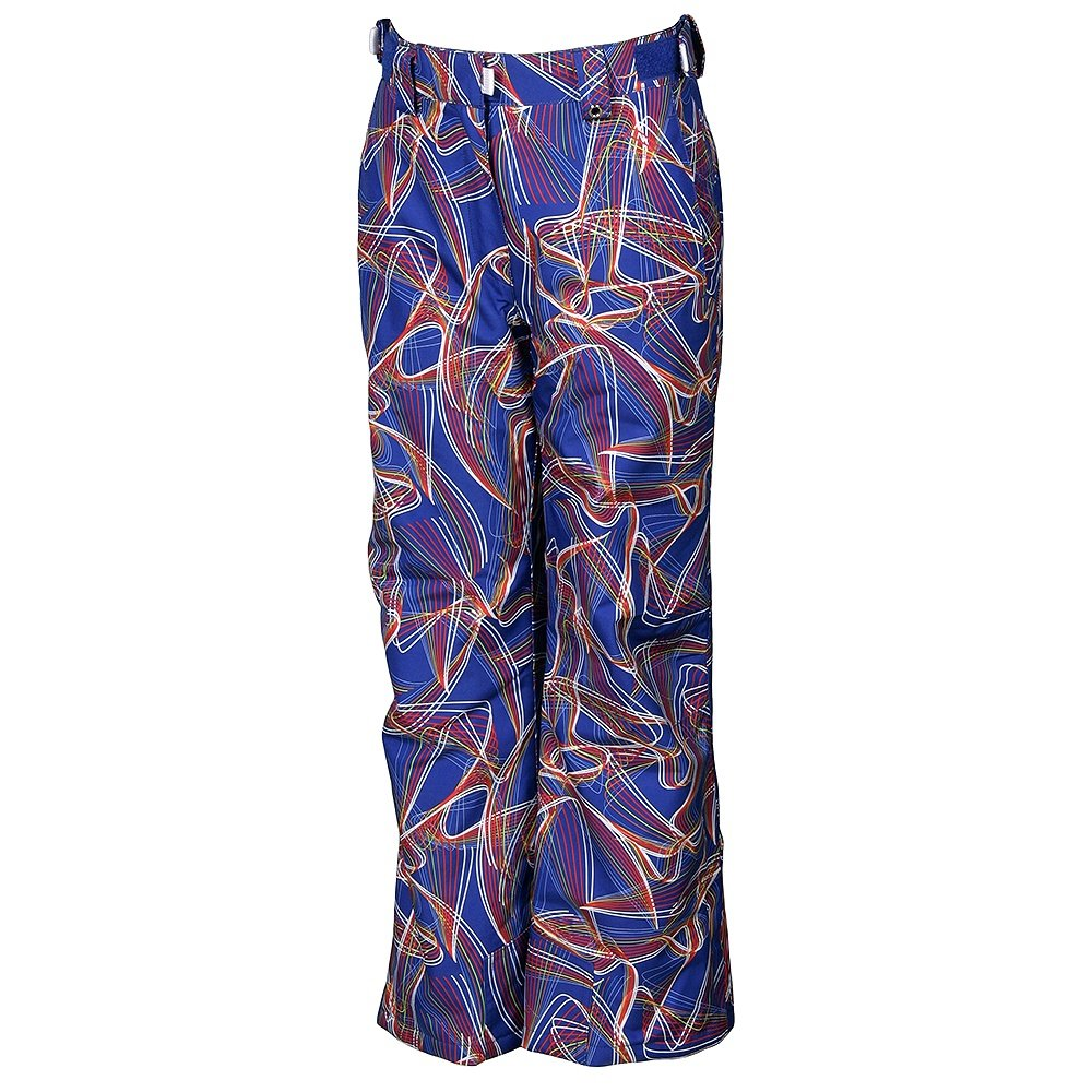 Karbon Luna Insulated Ski Pant (Girls') - Indigo Print