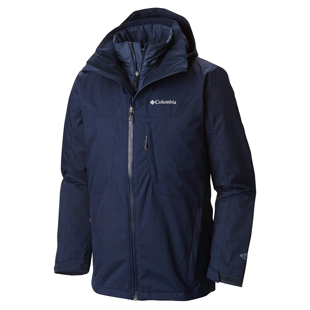 Columbia Whirlibird Interchange Tall 3-in-1 Ski Jacket (Men's)
