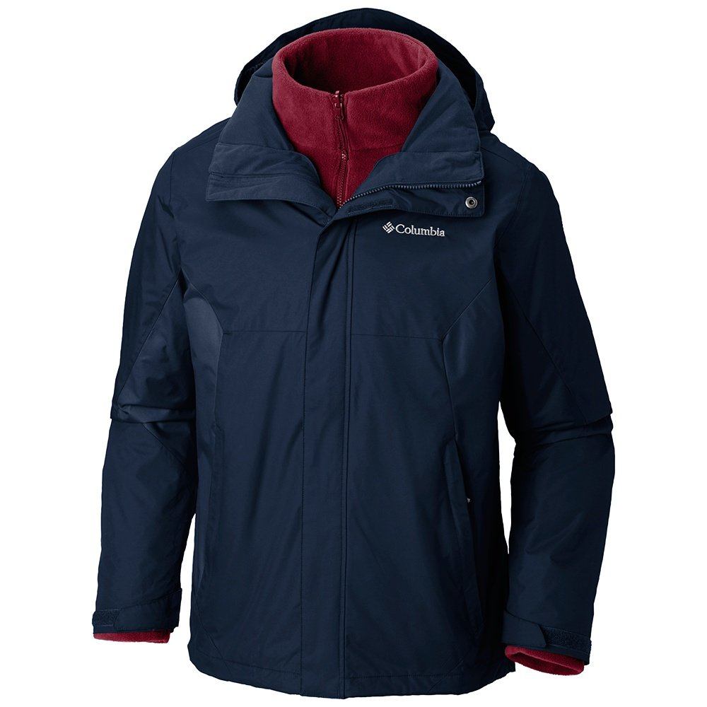 Columbia Eager Air Interchange 3-in-1 Ski Jacket (Men's)  - Dark Mountain