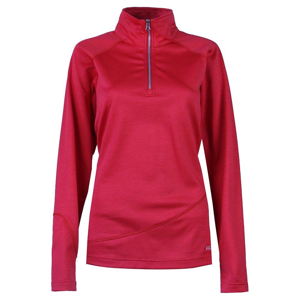 Boulder Gear Micro Half Zip Turtleneck Mid-Layer (Women's) - Crimson Red