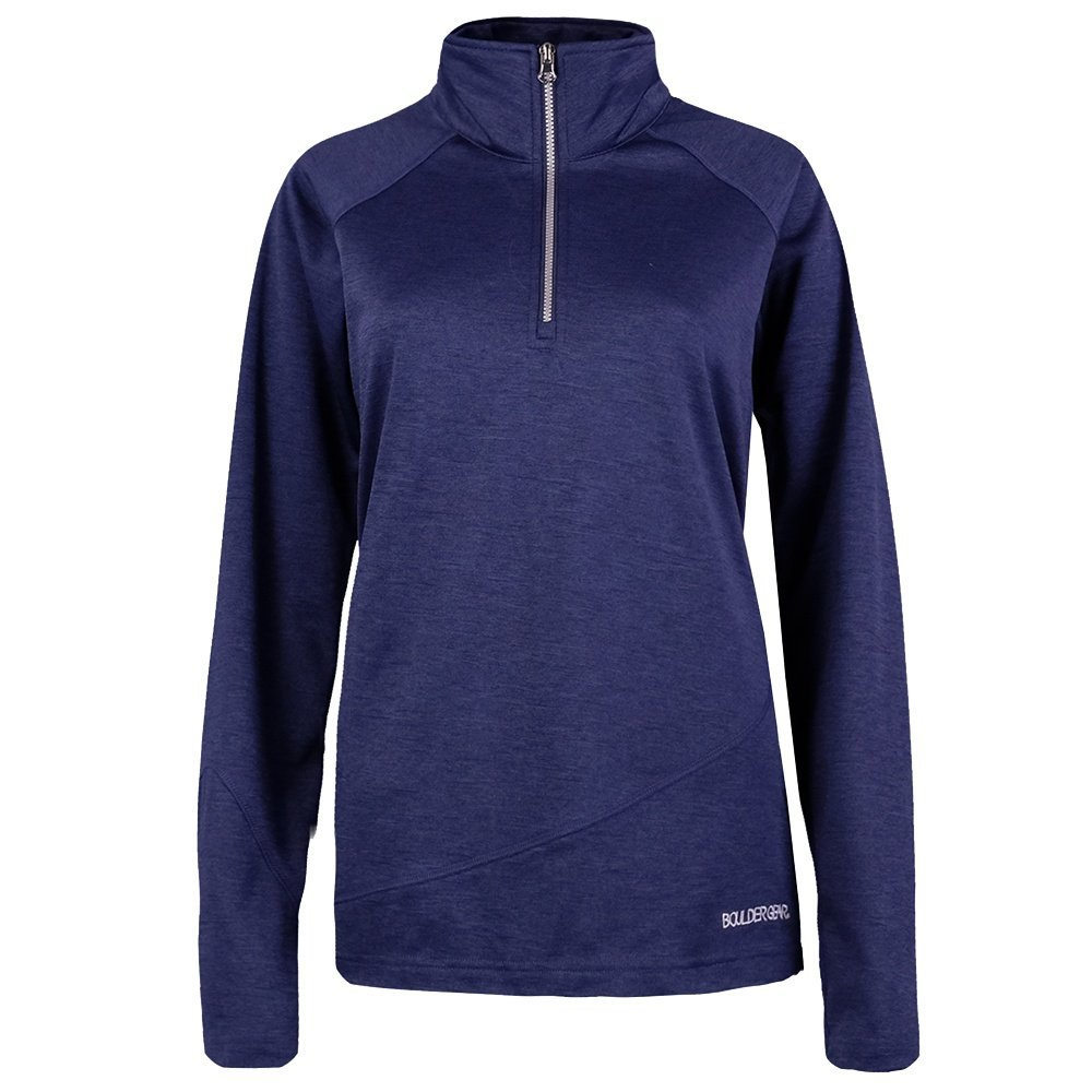 Boulder Gear Micro Half Zip Turtleneck Mid-Layer (Women's) - Midnight Blue
