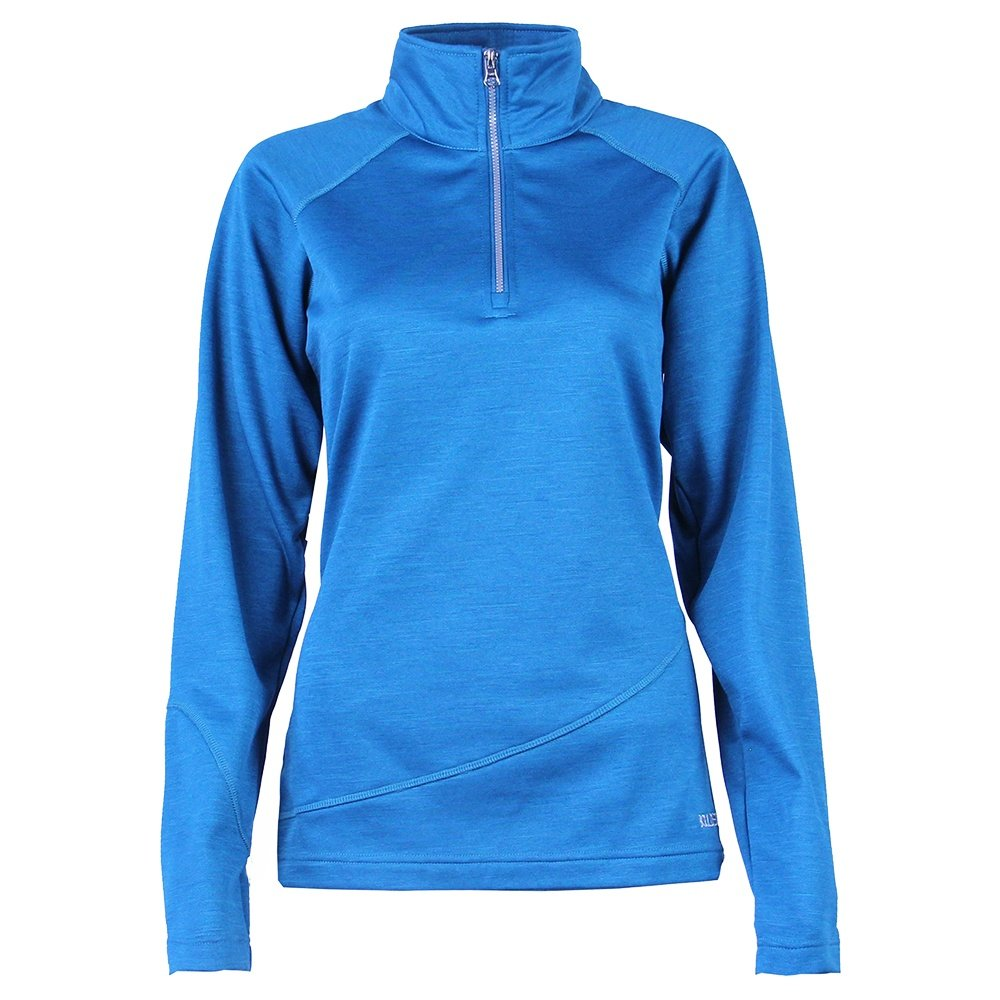 Boulder Gear Micro Half Zip Turtleneck Mid-Layer (Women's) - Peacock