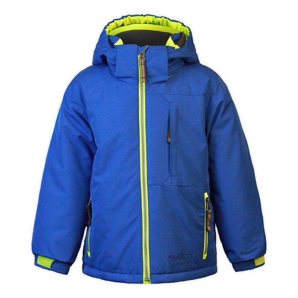 Snow Dragons Keyhole Ski Jacket (Little Boys') - Nautical Blue/Electric Yellow/Sky Blue