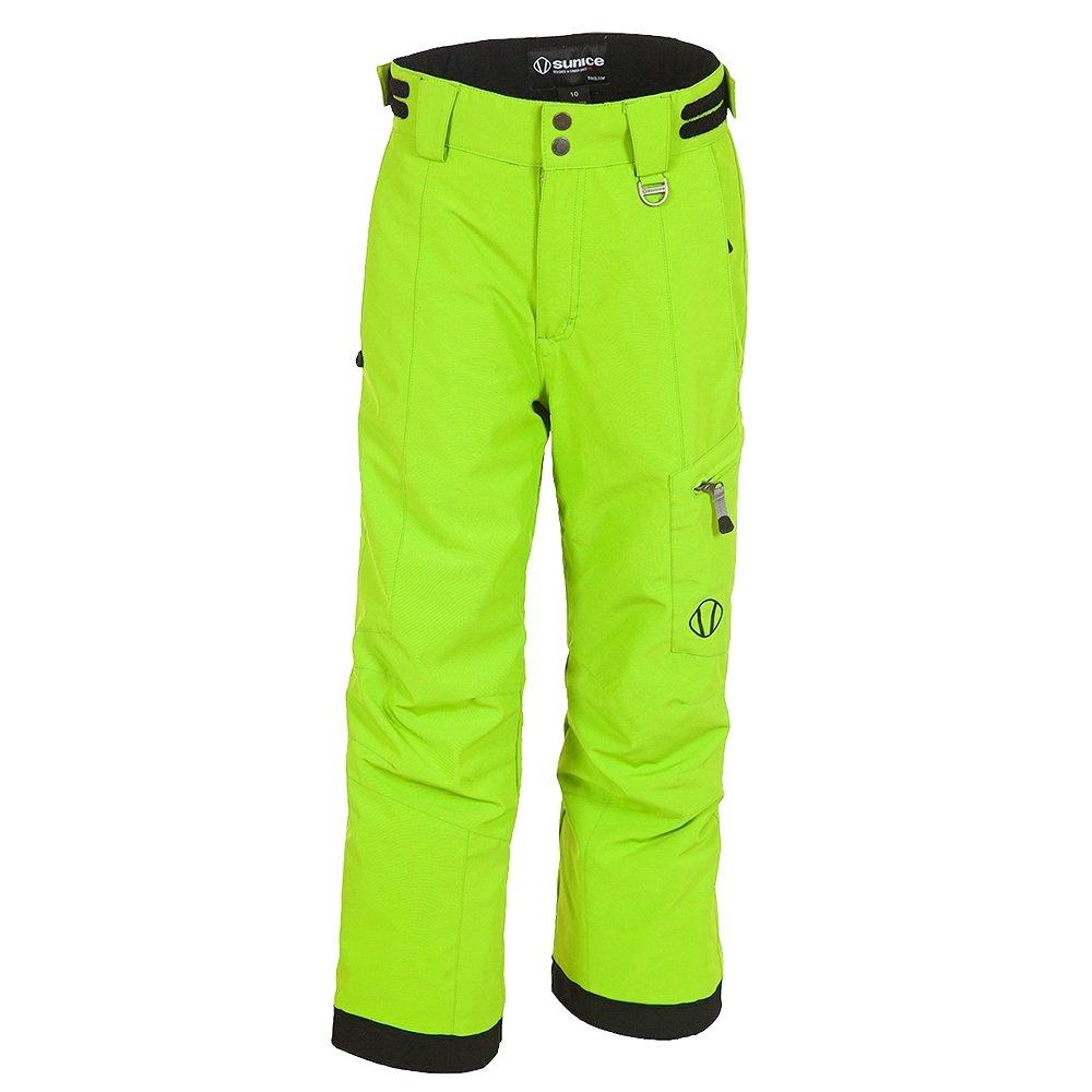 Sunice Laser Tech Insulated Ski Pant (Boys') - Deep Lime