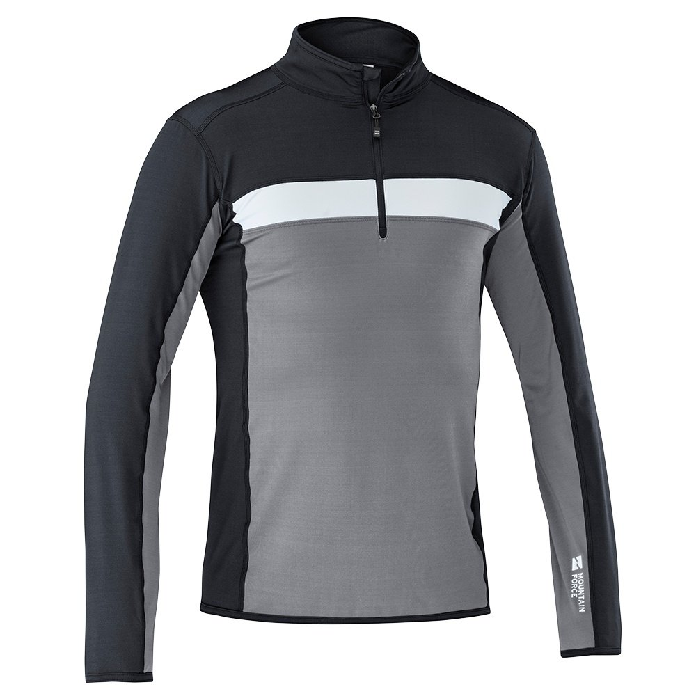 Mountain Force Kendall Mid-Layer Top (Men's) - Smoked Pearl