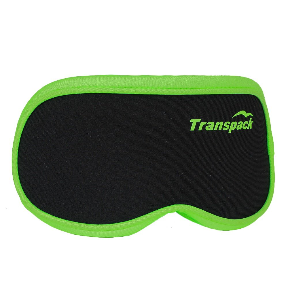 Transpack Goggle Cover - Black/Lime