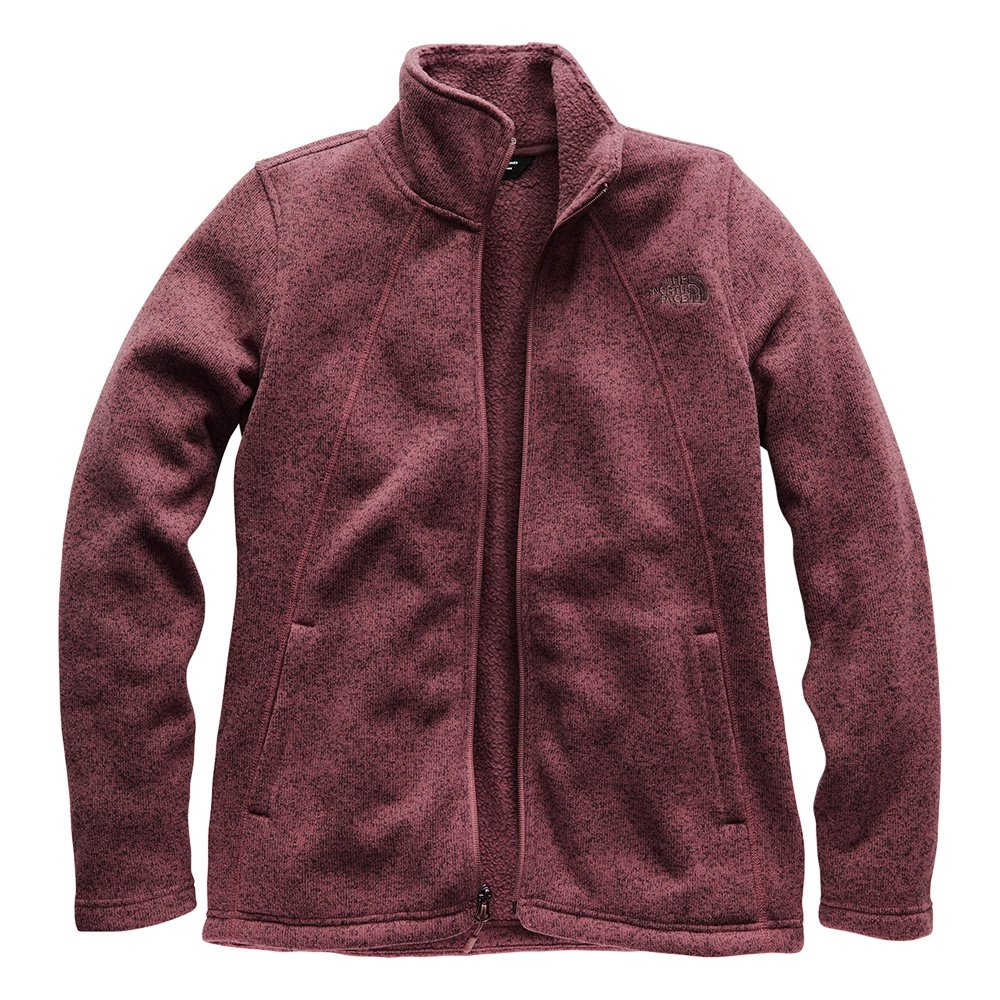 The North Face Crescent Full-Zip Jacket (Women's) - Fig Heather