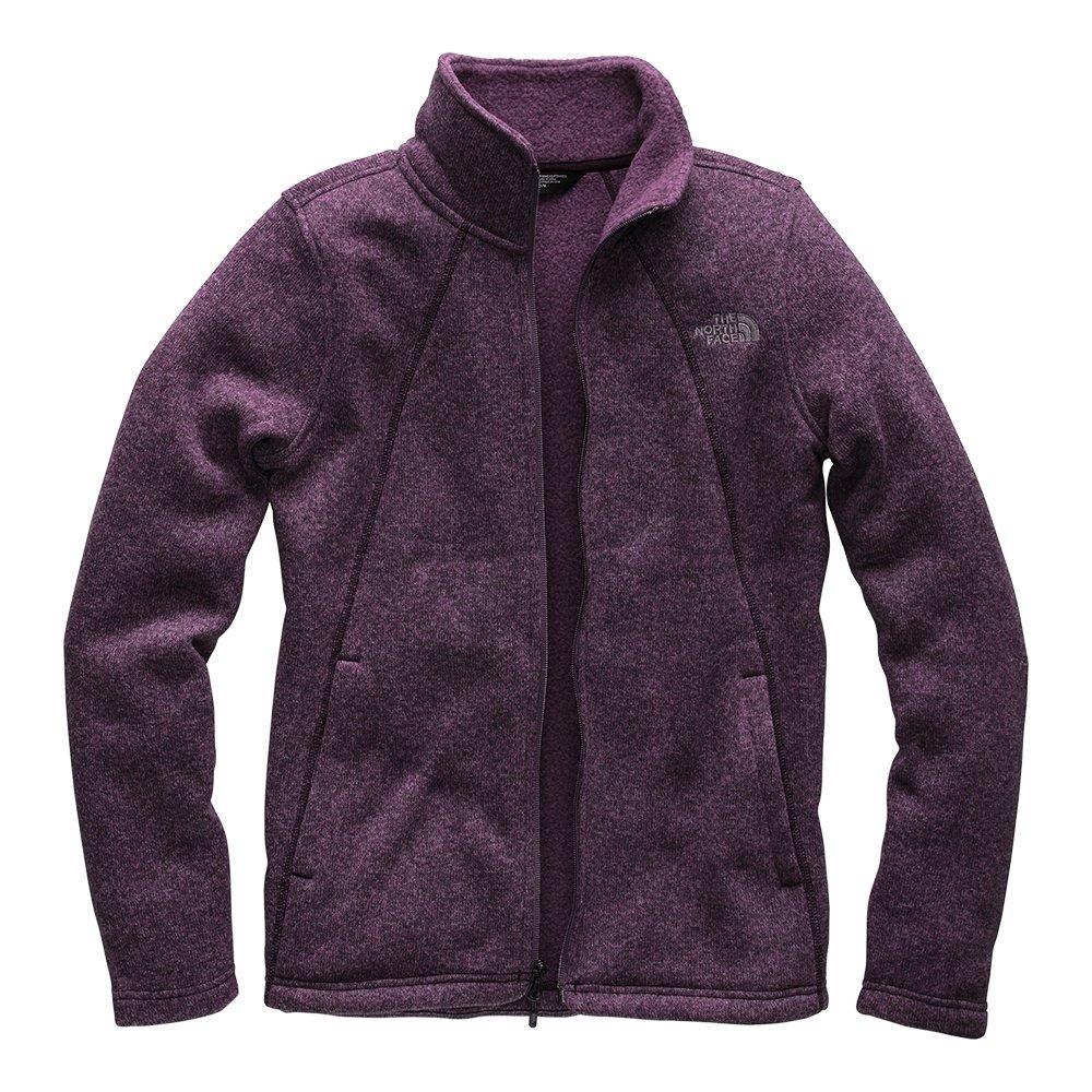 The North Face Crescent Full-Zip Jacket (Women's) - Galaxy Purple Multi Cresent Heather