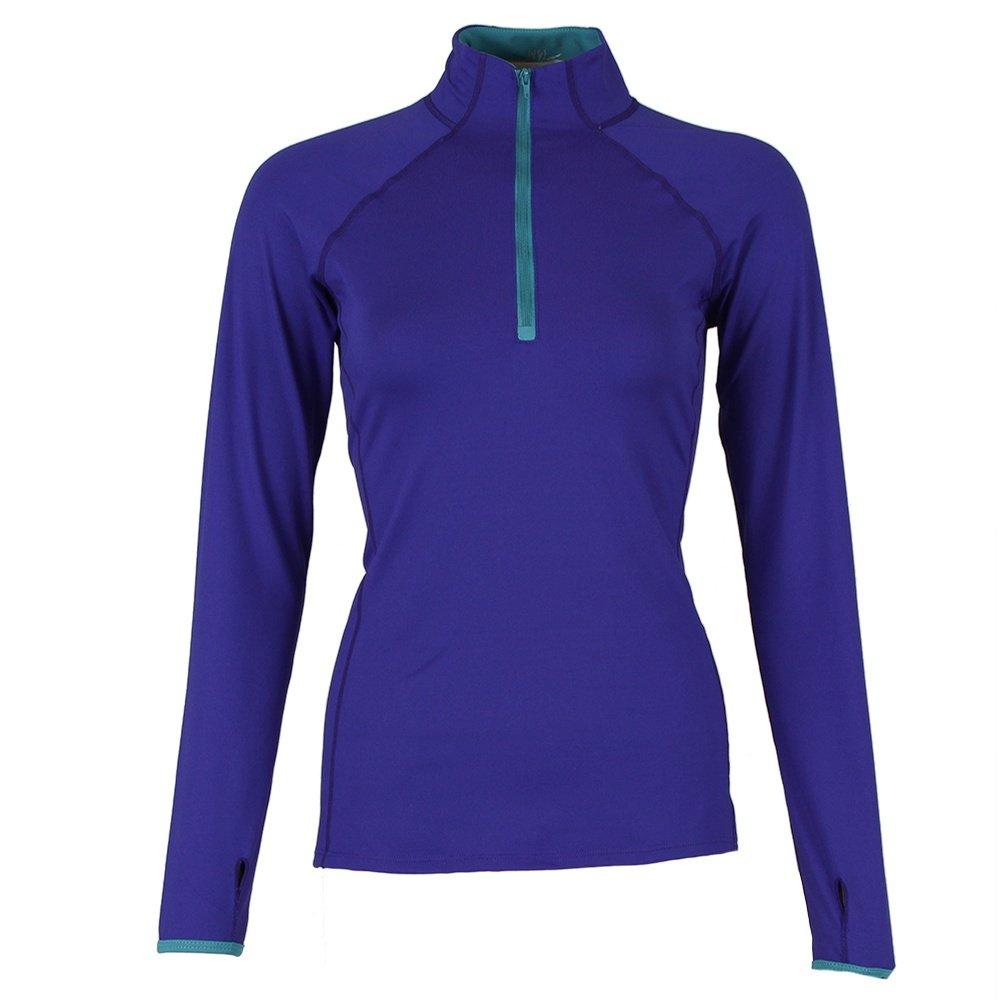 Snow Angel Color Splash Half Zip Shirt (Women's) -