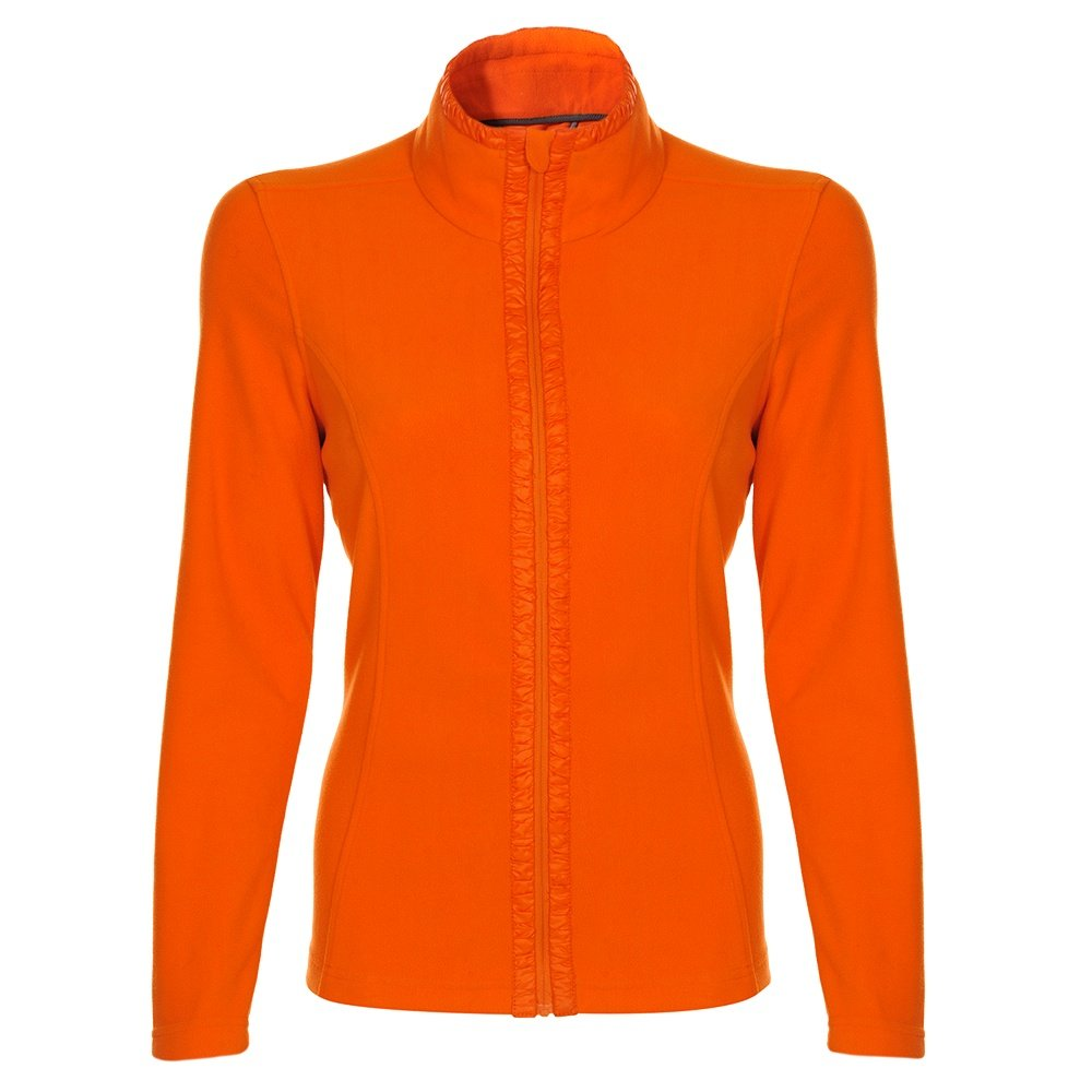 Poivre Blanc Polar Fleece Jacket (Women's) - Fusion Orange