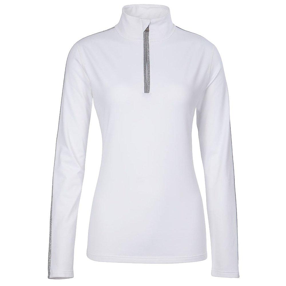 Fera Wynne Half Zip Turtleneck Mid-Layer (Women's) - White/Pewter