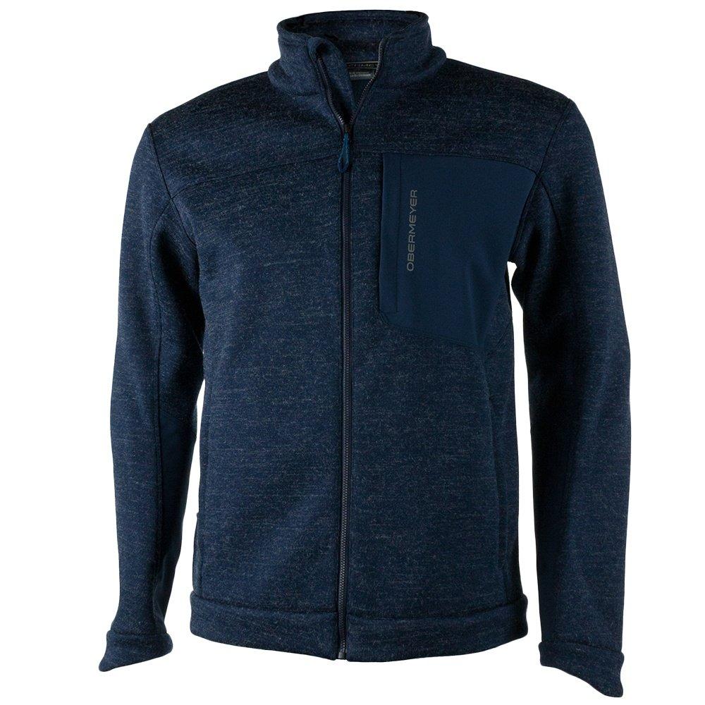 Obermeyer Gunner Bonded Knit Fleece Jacket (Men's) - Storm Cloud