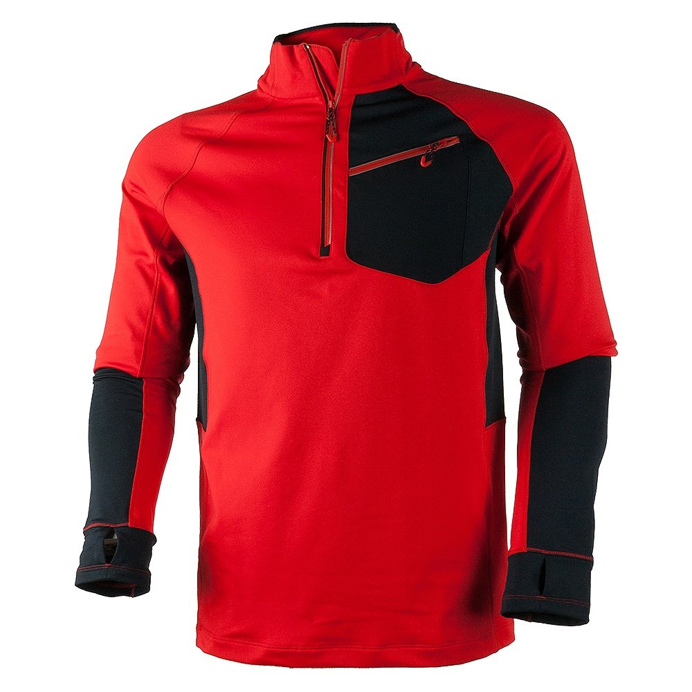 Obermeyer Flight Sport 75wt Zip Fleece Mid-Layer (Men's) - Red