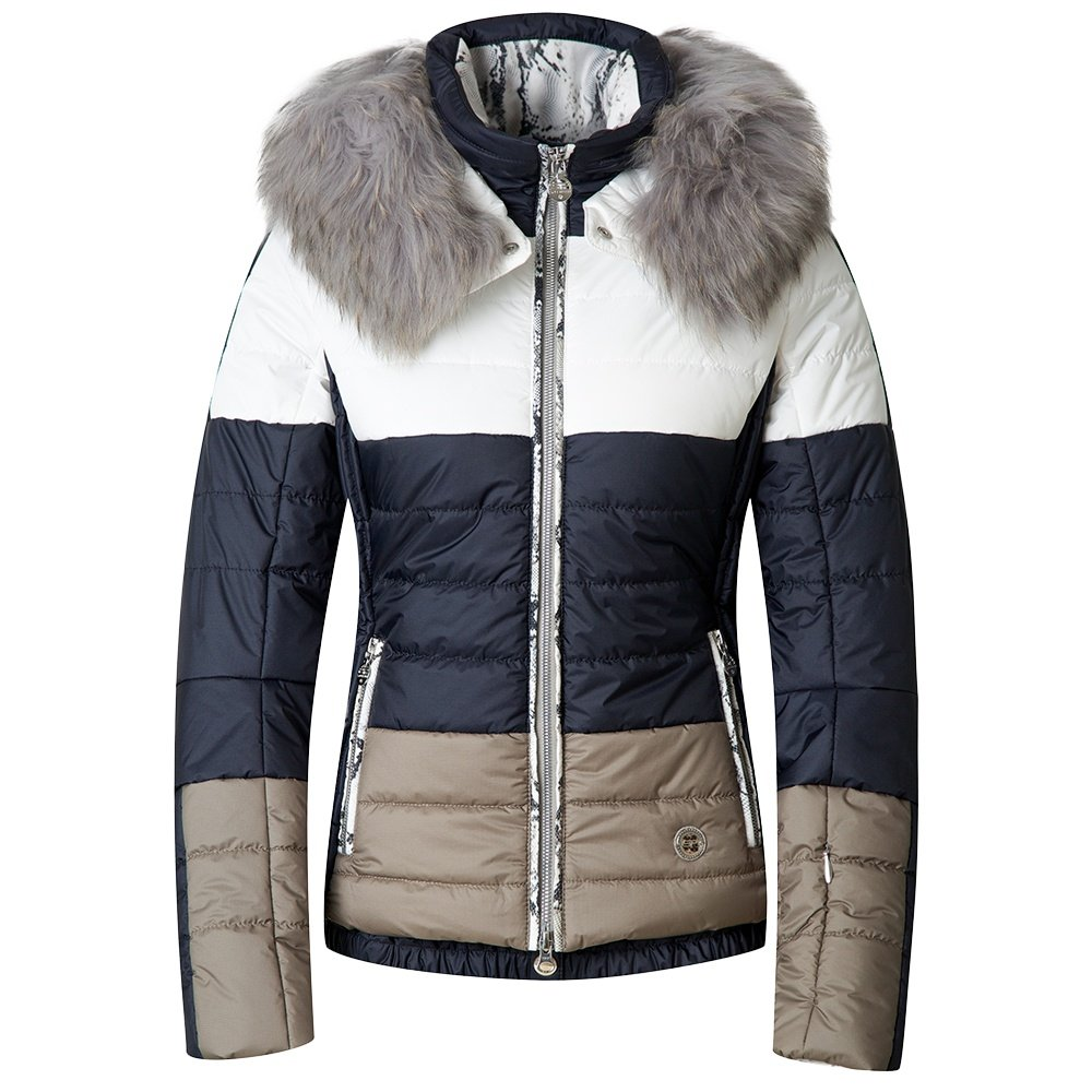 Sportalm Huntsville Insulated Jacket with Fur (Women's) - Off White