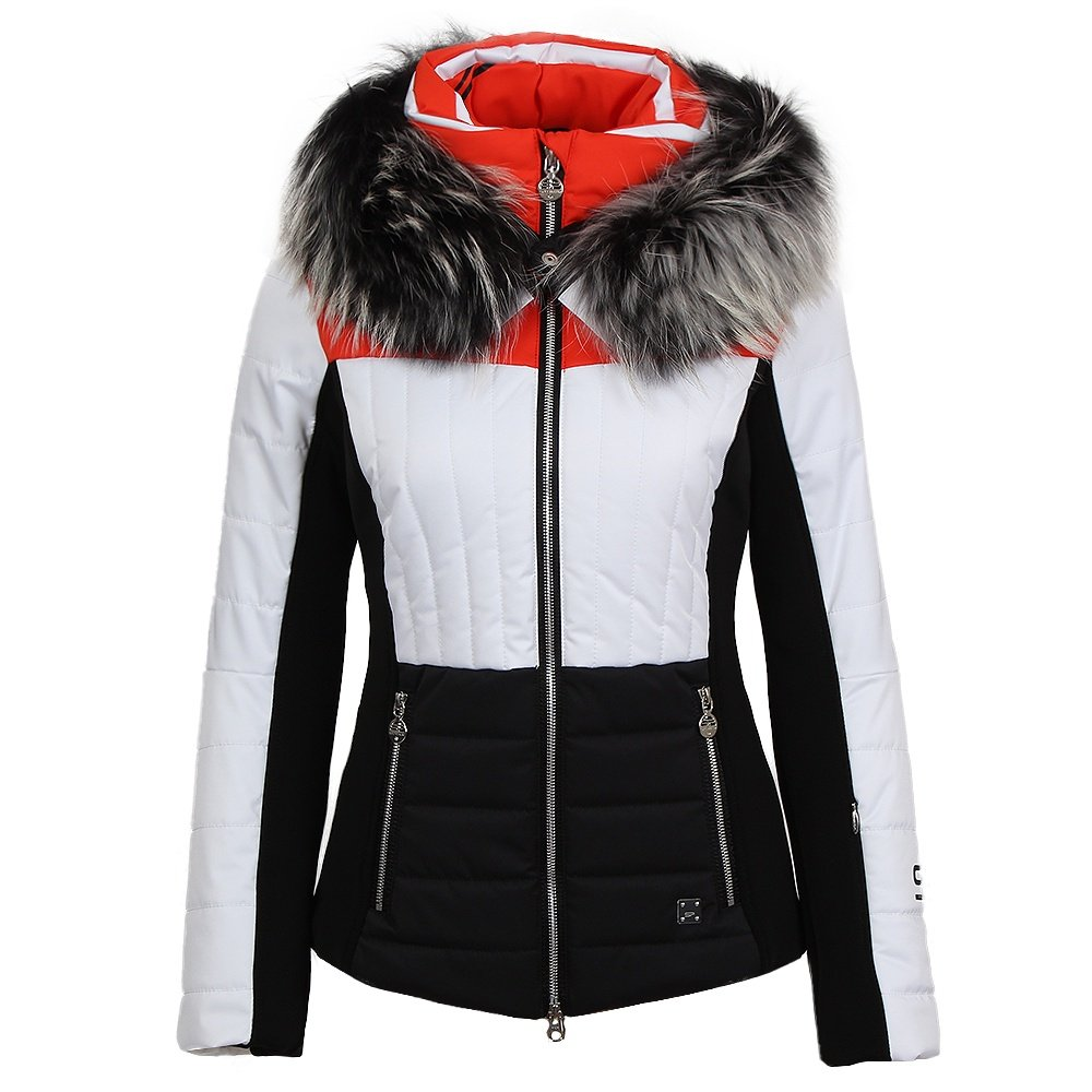 sportalm oxalis ice insulated ski jacket with fur women 39 s peter glenn. Black Bedroom Furniture Sets. Home Design Ideas