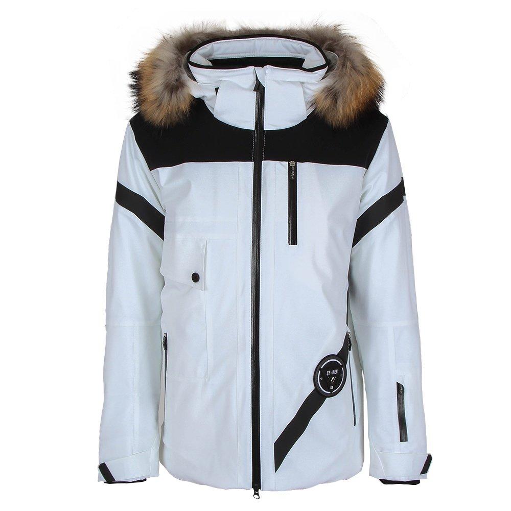 Sportalm North Insulated Ski Jacket with Fur (Men's) - White