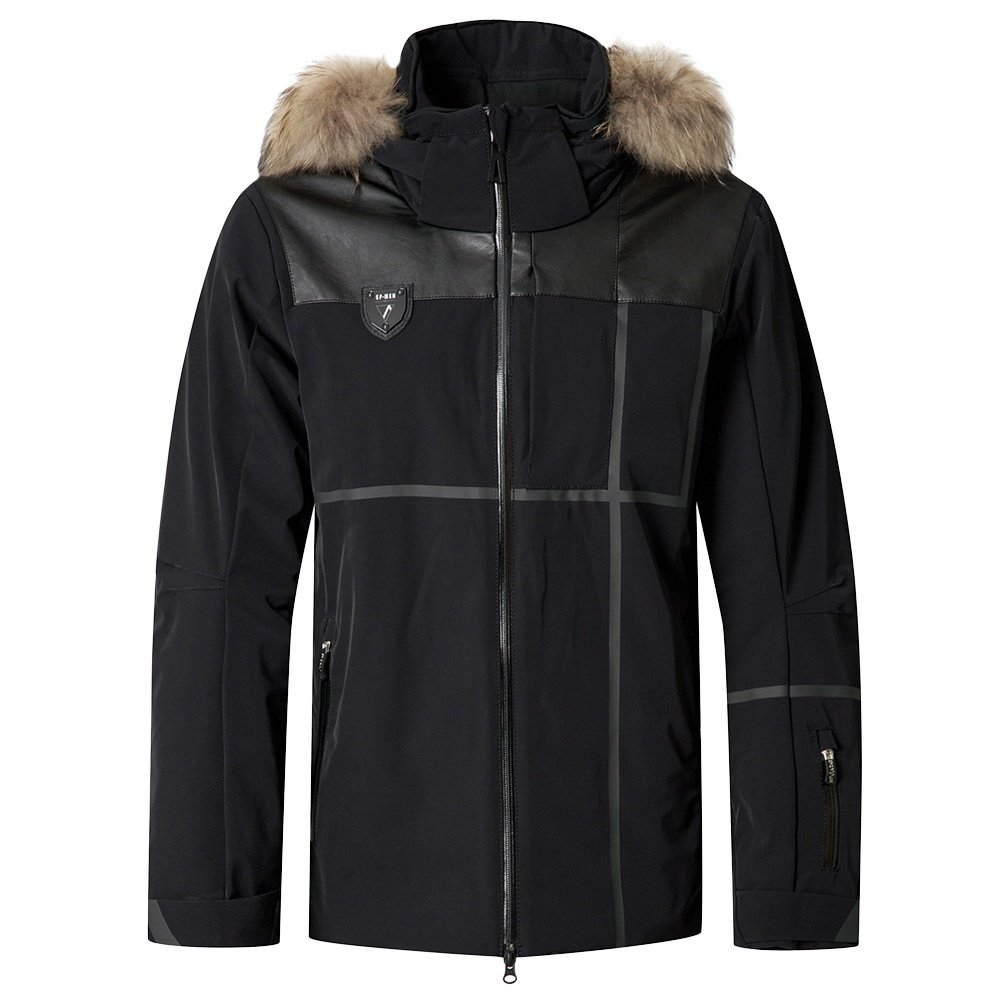 Sportalm Jib Insulated Ski Jacket with Fur (Men's) - Black