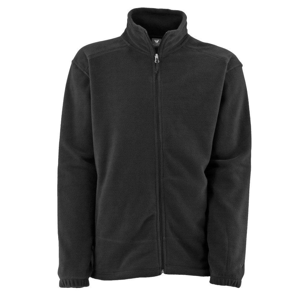 White Sierra Mountain II Fleece Jacket (Men's) - Black