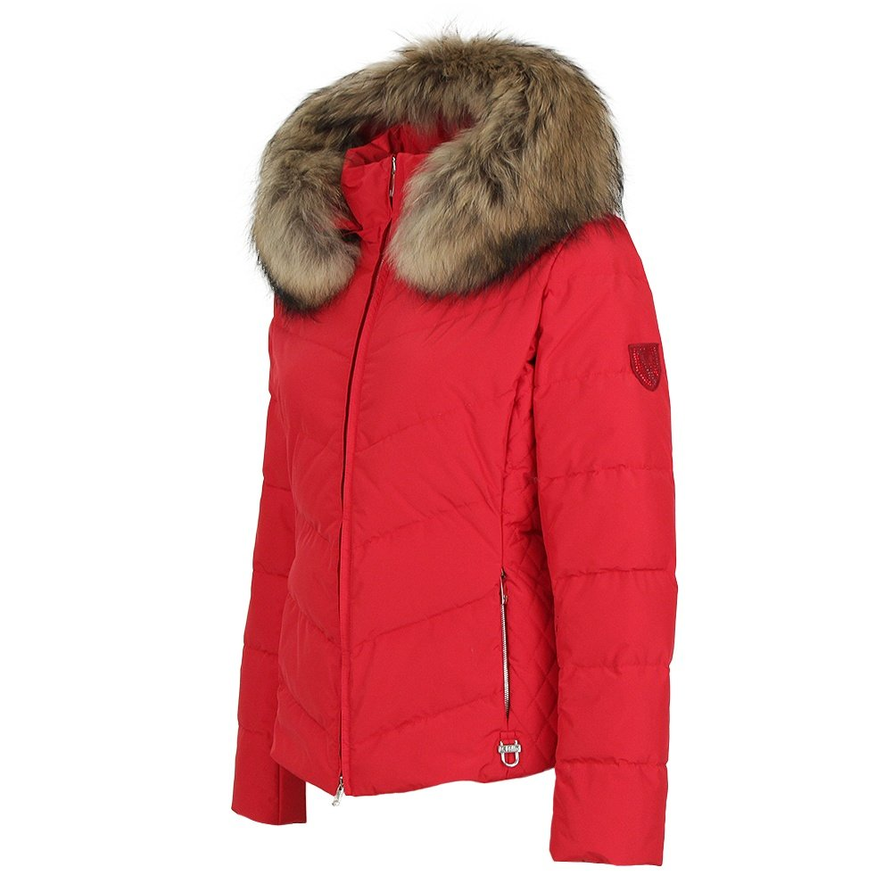 M. Miller Lexa Down Ski Jacket with Real Fur (Women's) - Red