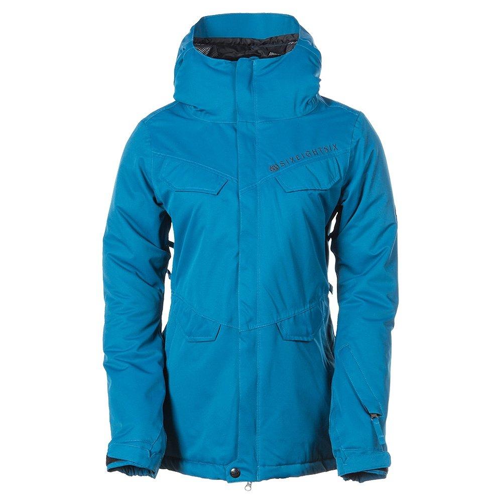 686 Faithful Insulated Snowboard Jacket (Women's)  - Blue