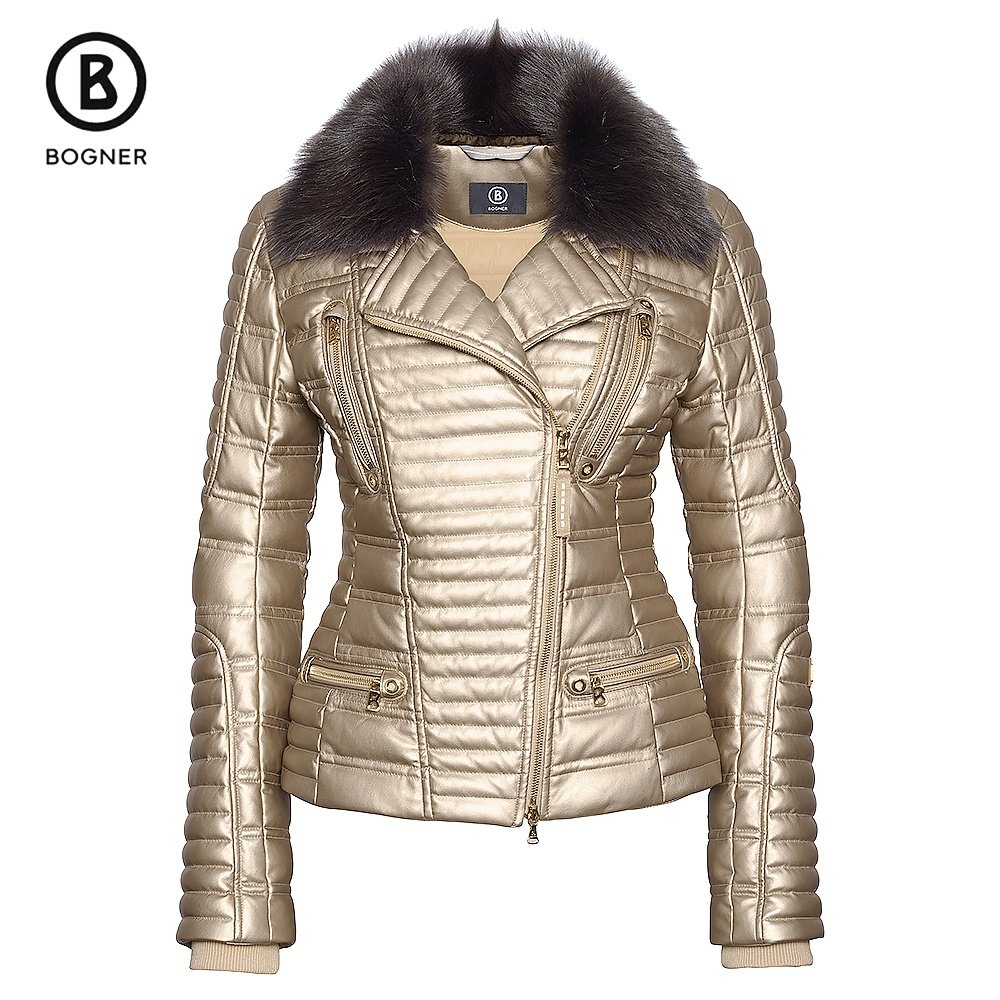 Bogner Avea-D Down Leather Ski Jacket (Women's) -