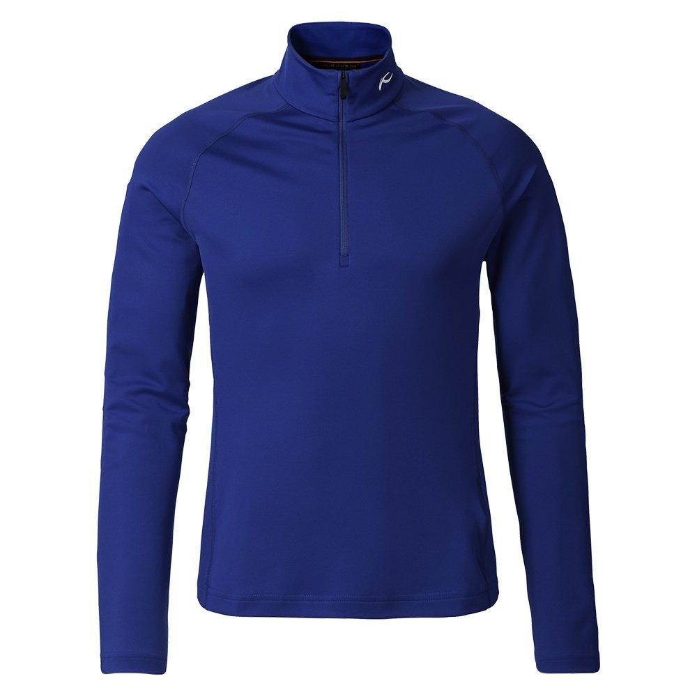 KJUS Second Skin Half Zip Turtleneck Mid-Layer (Men's) - Alaska Blue