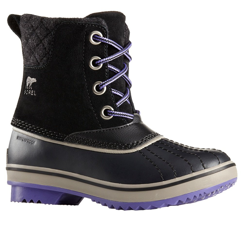 Sorel Slimpack Lace II Boot (Kids') - Black