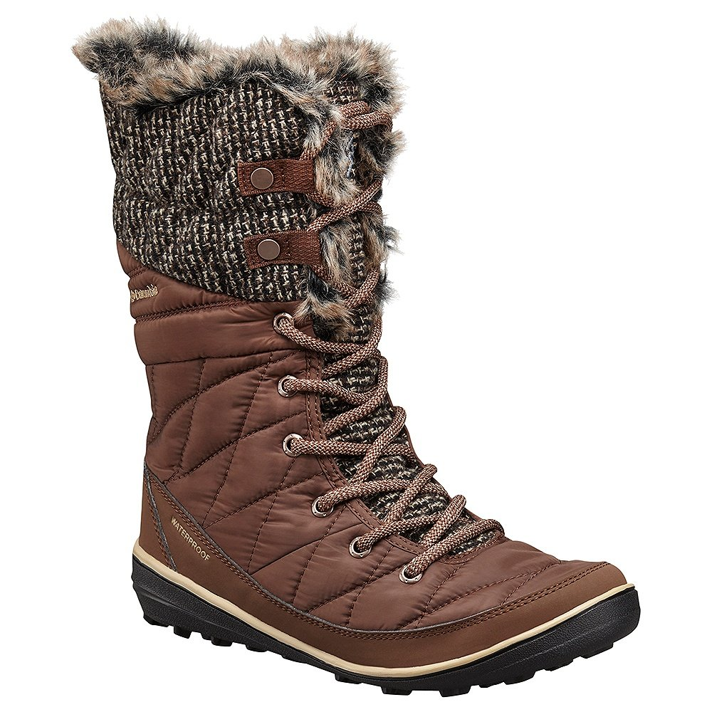 Columbia Heavenly Omni-HEAT Knit Boots (Women's) - Tobacco