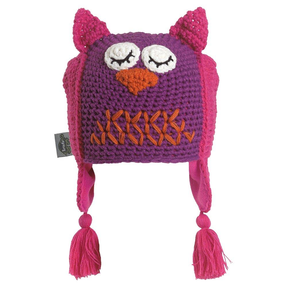 Turtle Fur Night Owl Hat (Little Girls') -