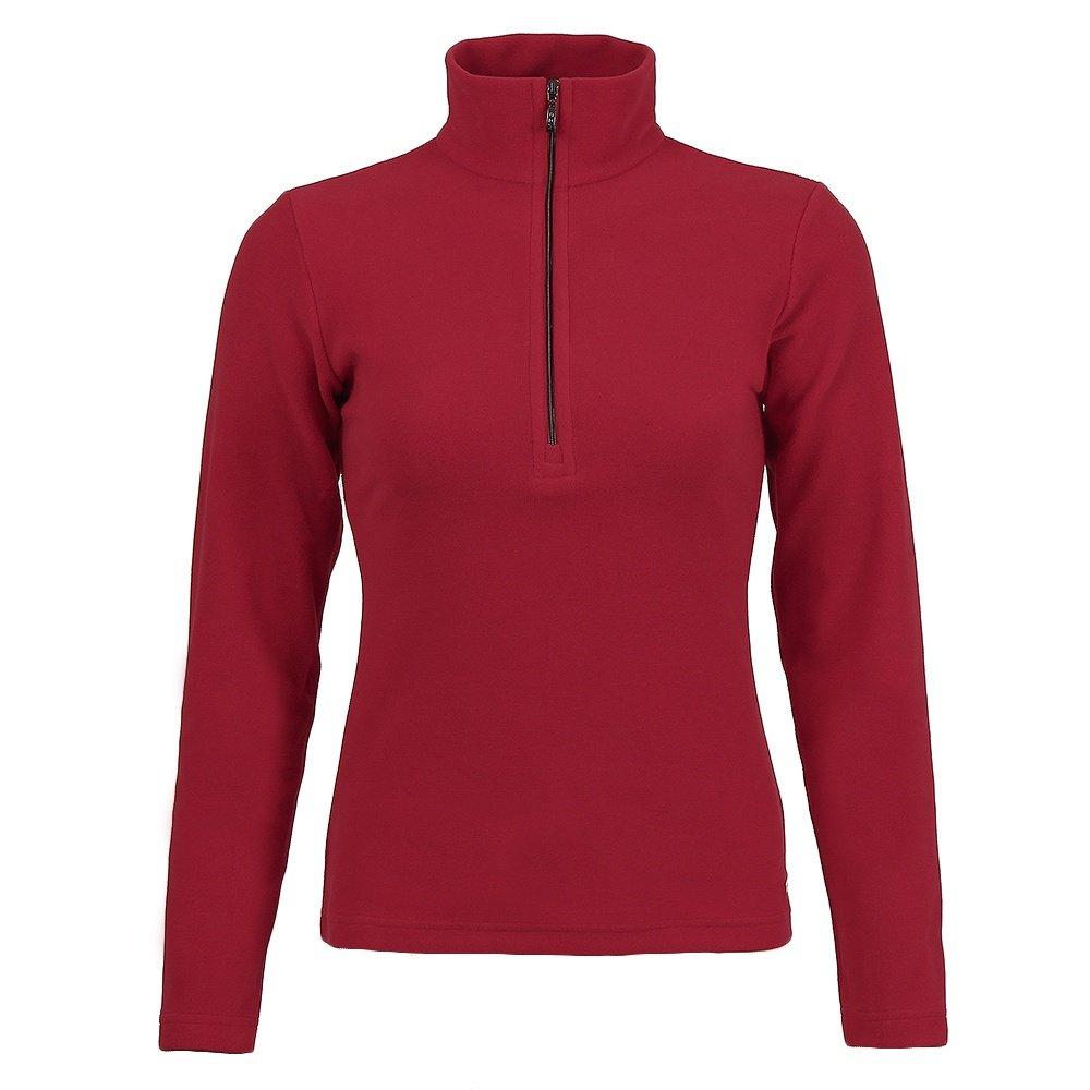 MDC Half Zip Turtleneck Fleece Mid-Layer (Women's) - Red
