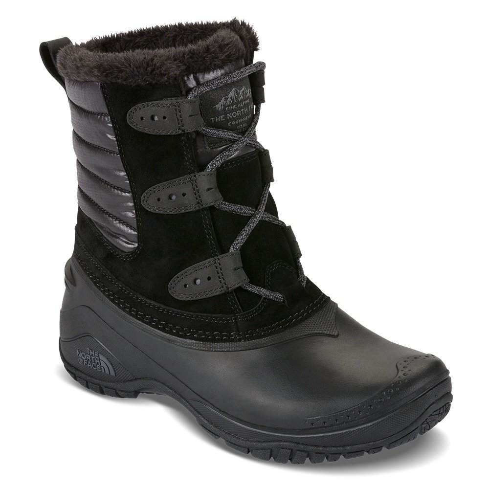 The North Face Shellista II Shorty Boot (Women's) - TNF Black/Smoked Pearl Grey