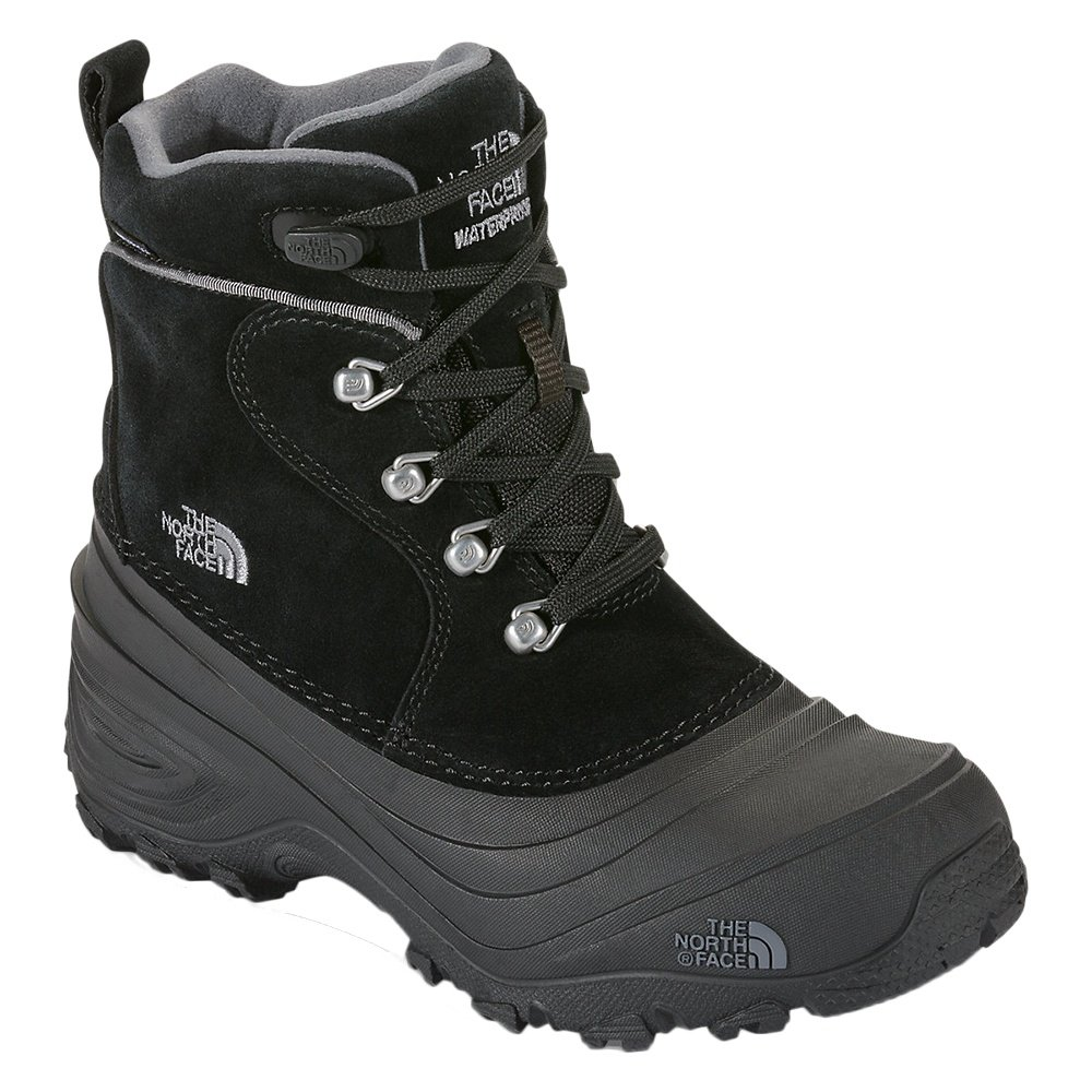 The North Face Chilkat Lace II Boot (Boys') - TNF Black