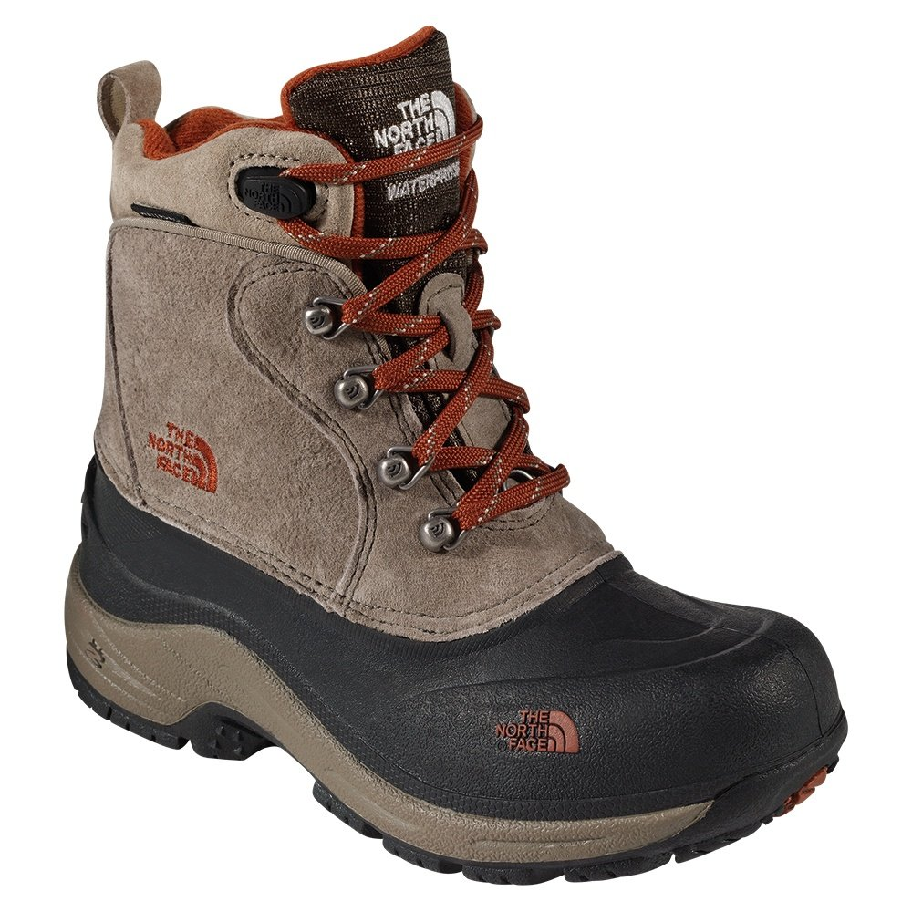 The North Face Chilkat Lace II Boot (Boys') - Mud Pack Brown/Sienna Orange