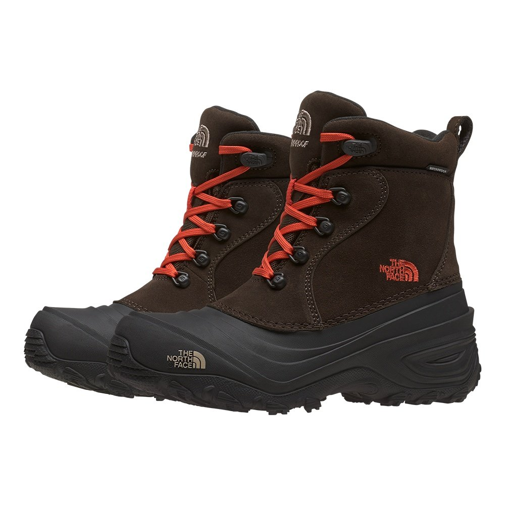 The North Face Chilkat Lace II Boot (Boys') - Coffee Brown/Flare