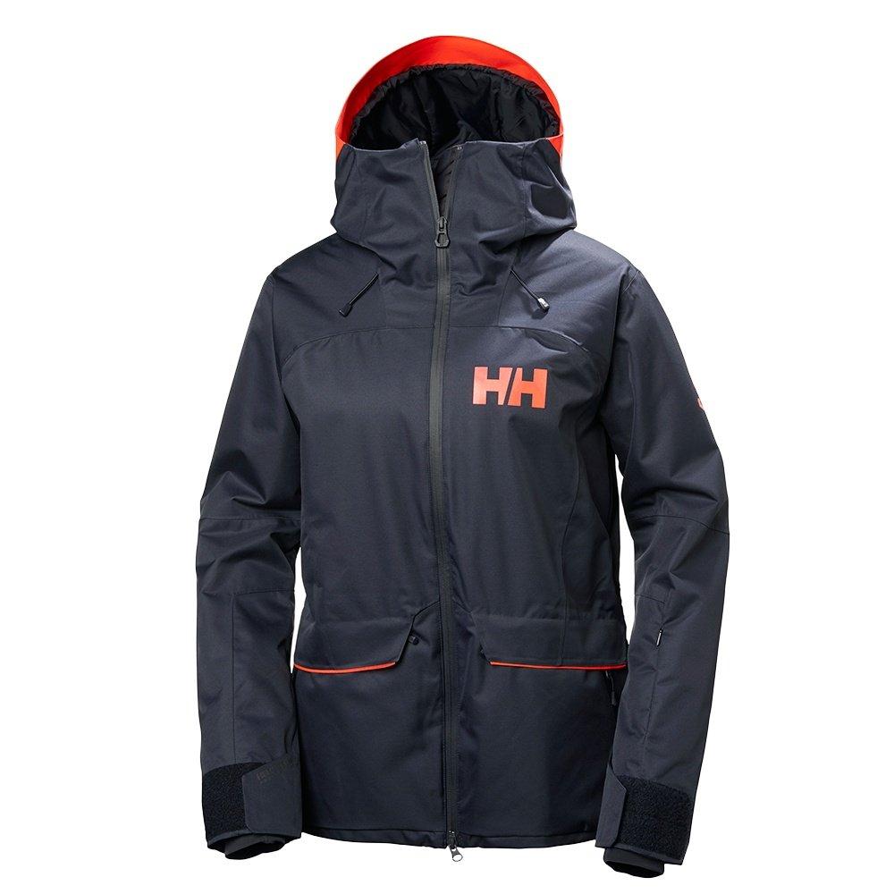 Helly Hansen Powderqueen Jacket (Women's) - Graphite Blue