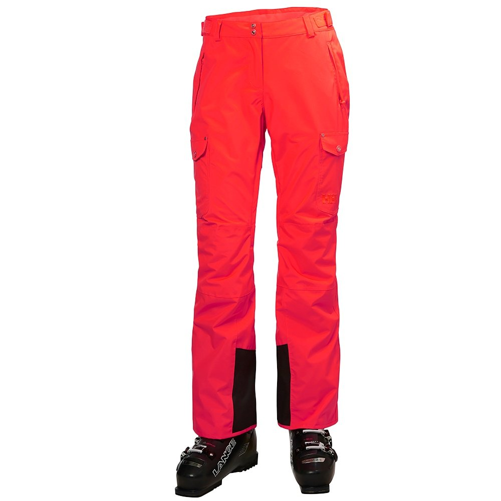 Helly Hansen Switch Cargo Ski Pant (Women's) - Neon Coral