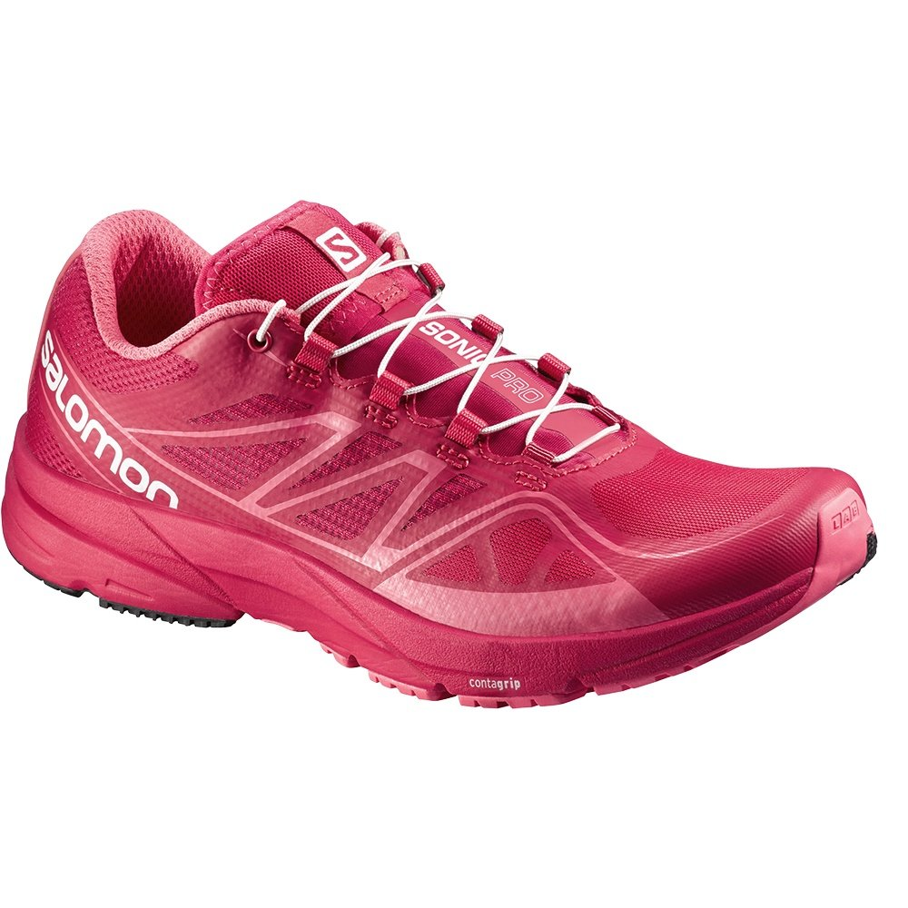 Salomon Sonic Pro Running Shoes (Women's) - Lotus Pink/Madder Pink