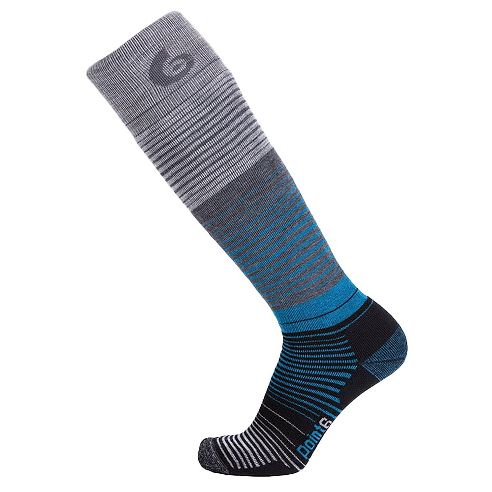 Point6 Medium Blend Sock (Men's) - Stone Grey