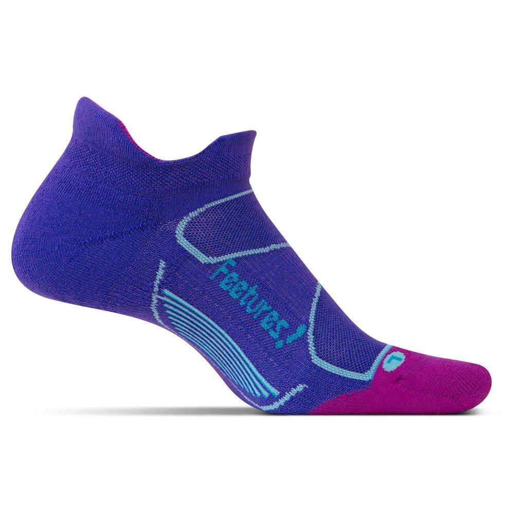 Feetures Elite Max Cushion Running Sock (Women's) - Irish/Hawaiin Blue