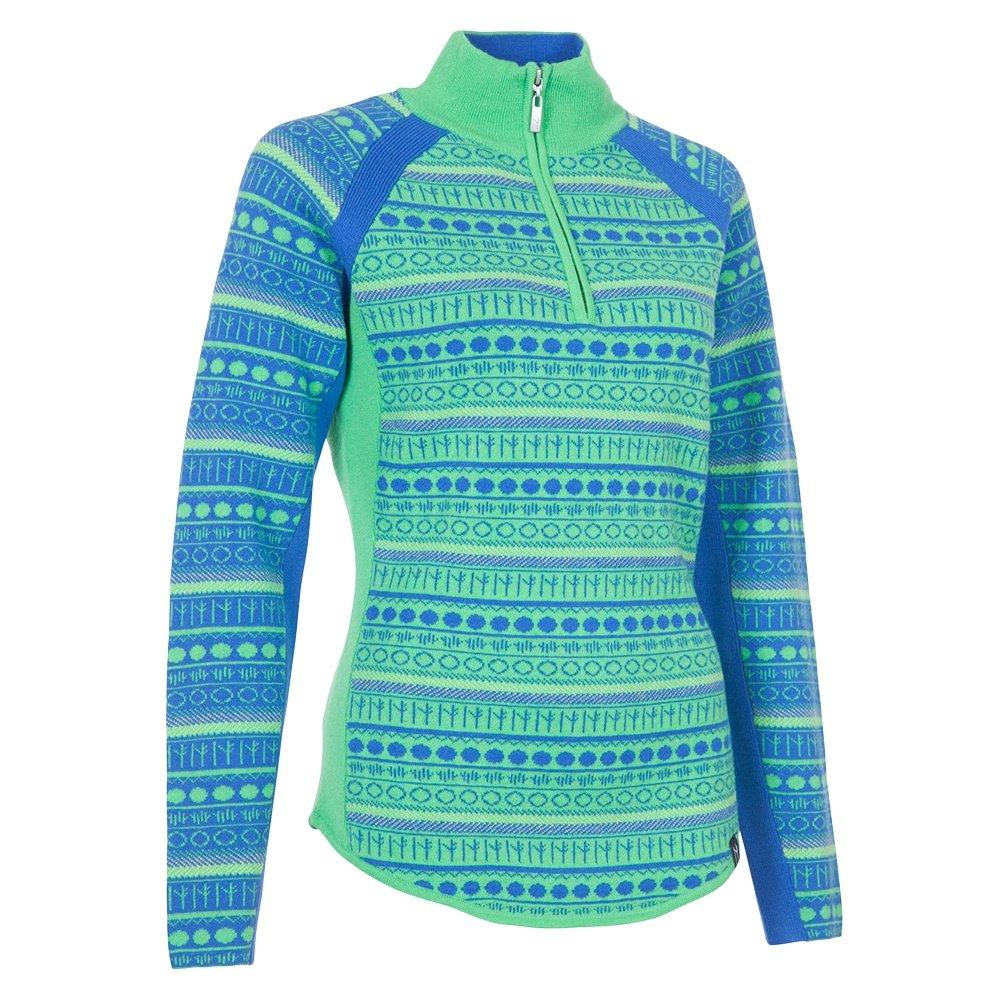 Neve Designs Gemma Half Zip Sweater (Women's) - Ocean