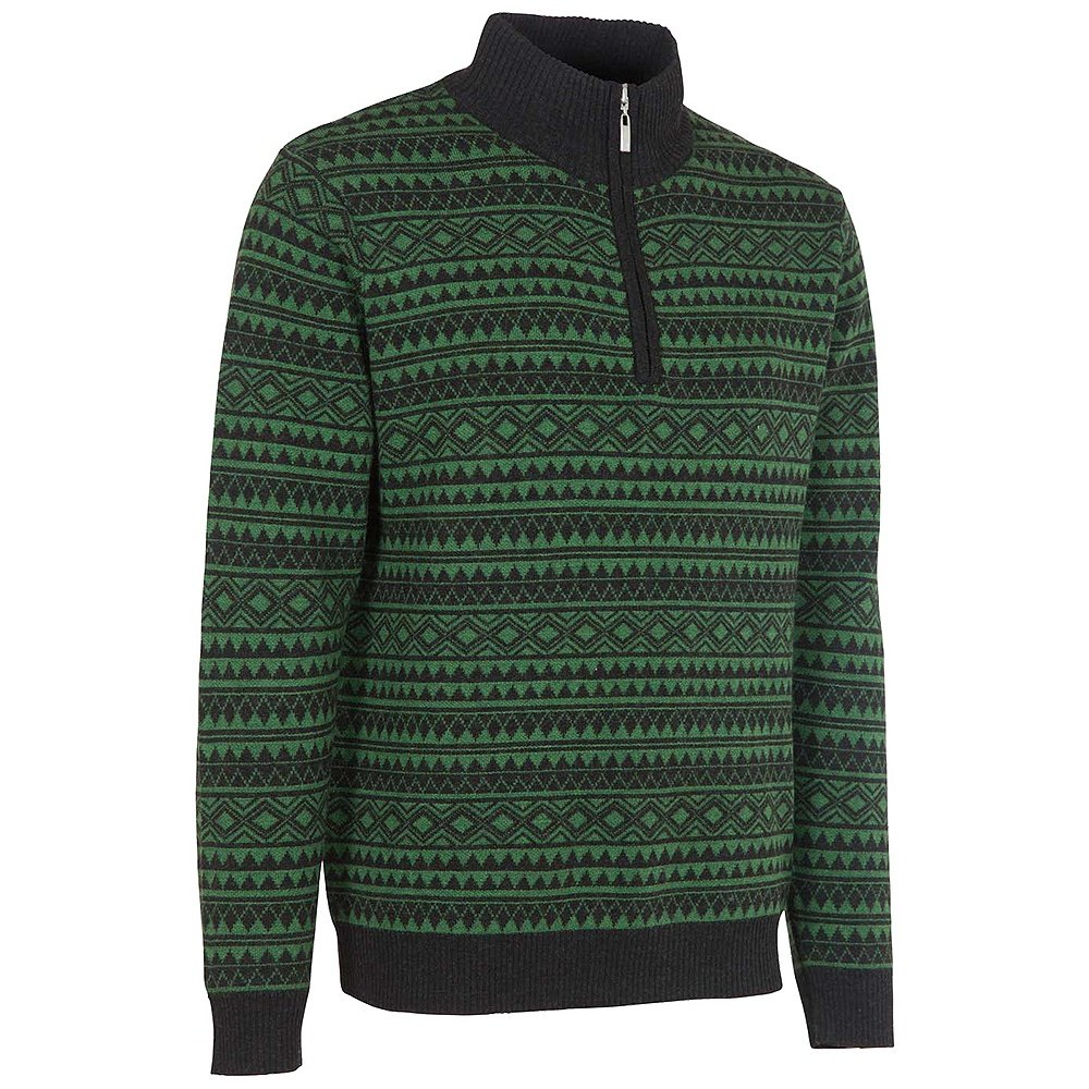 Neve Designs Peter Half Zip Sweater (Men's) - Olive