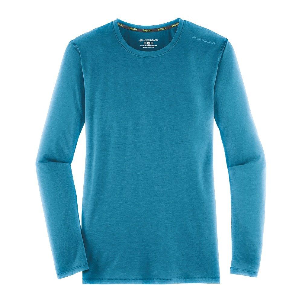 Brooks distance long sleeve running shirt women 39 s for Long sleeve running shirt womens