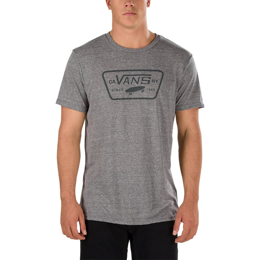 Vans Triblend Full Patch T-Shirt (Men's) - Heather Grey