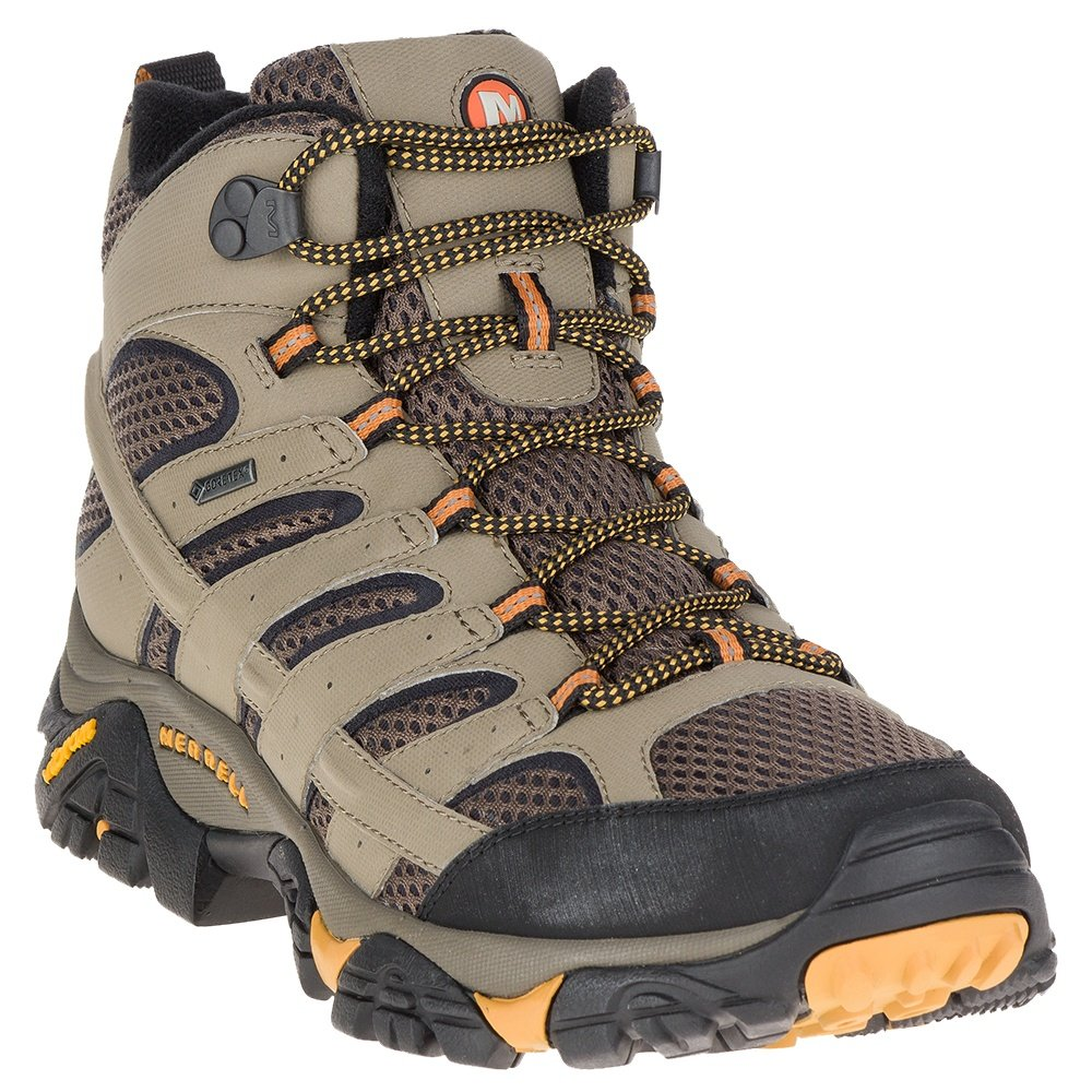 Merrell Moab Mid 2 GORE-TEX Hiking Boot (Men's) - Walnut