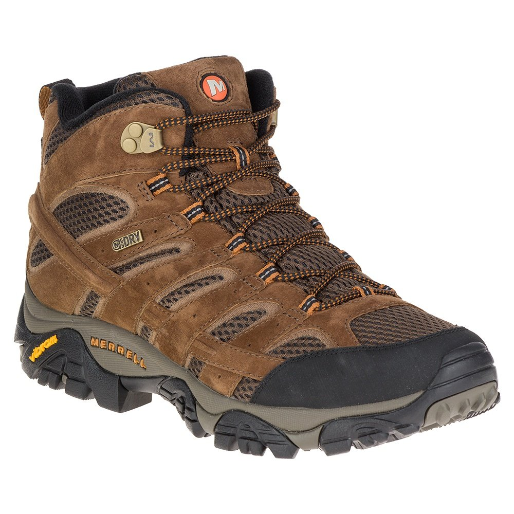 Merrell Moab 2 Mid Waterproof Hiking Boot (Men's) - Earth