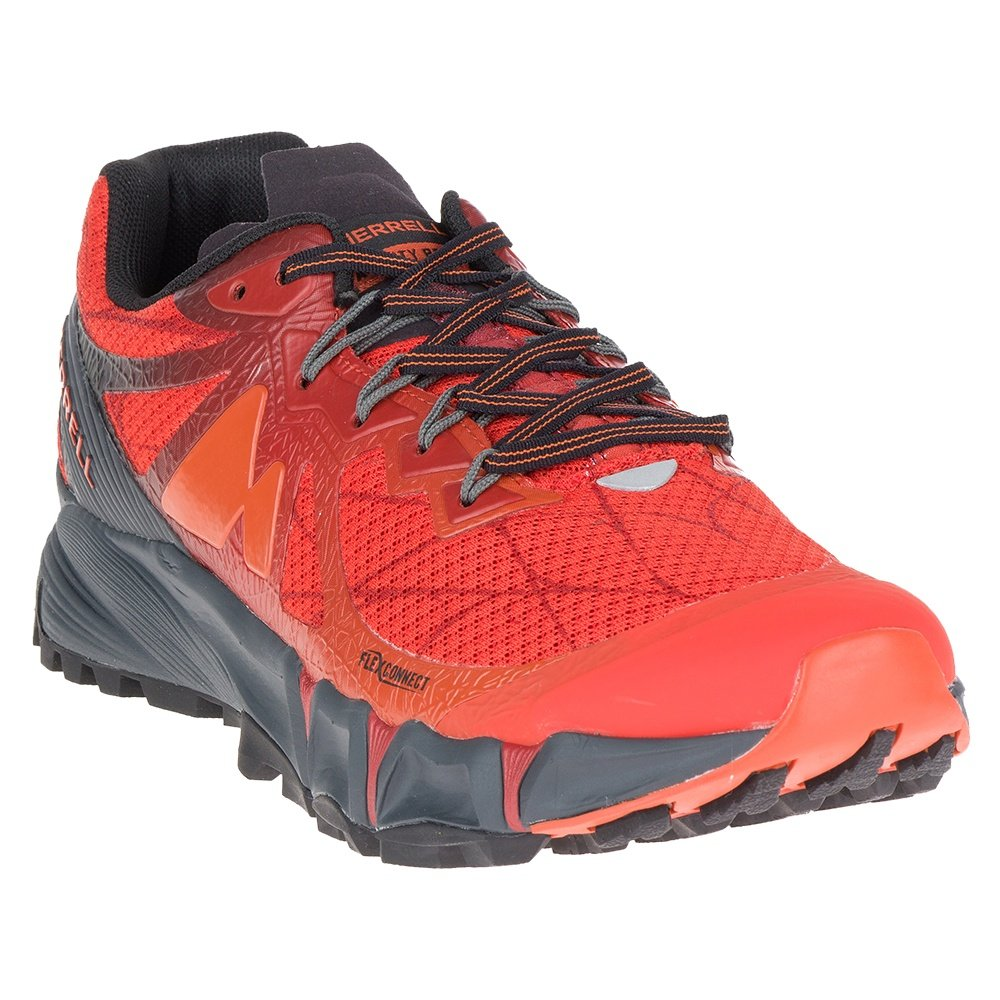 Merrell Agility Peak Running Shoe (Men's) - Merrell Orange