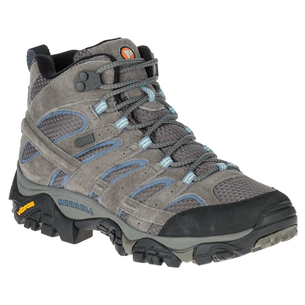 Merrell Moab 2 Mid Waterproof Boot (Women's) - Granite