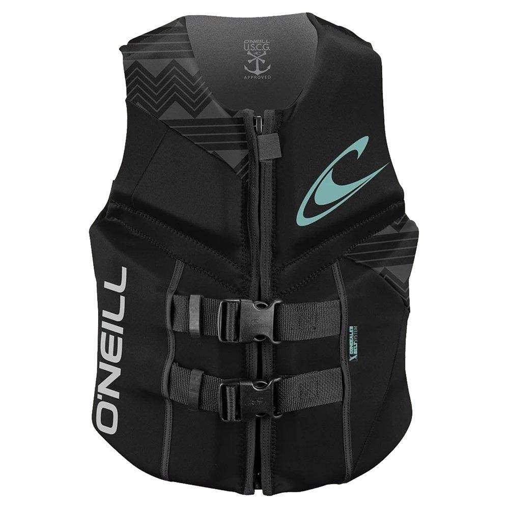O'Neill Reactor USCG Life Vest (Women's) - Black