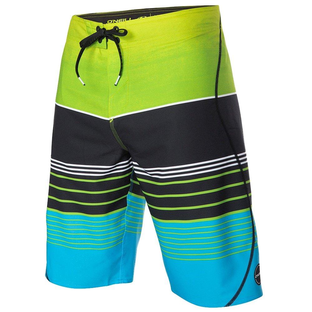 O'Neill Hyperfreak Transfer S-Seam Boardshorts (Men's) - Lime