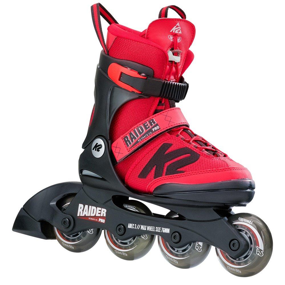 K2 Raider Pro Inline Skates & Pads (Boys') - Red